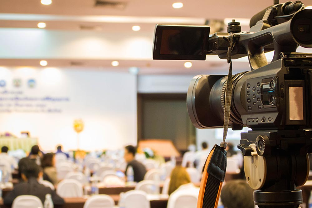 Conference and corporate video production services company