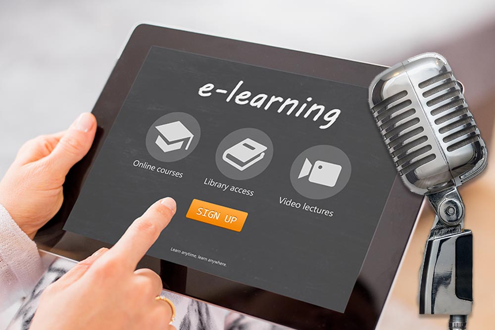 e-Learning voice-over services UK by Media Message