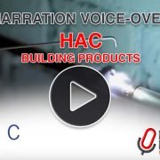 Narration voice-over for HAC corporate video by Dave Myatt of Media Message