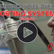 On hold message voice-over for Hosting Systems UK